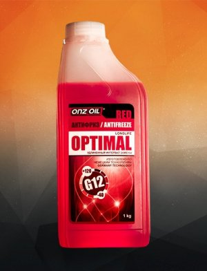 АНТИФРИЗ ONZOIL OPTIMAL RED G12