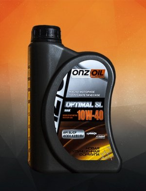 ONZOIL SAE 10W-40 OPTIMAL SL